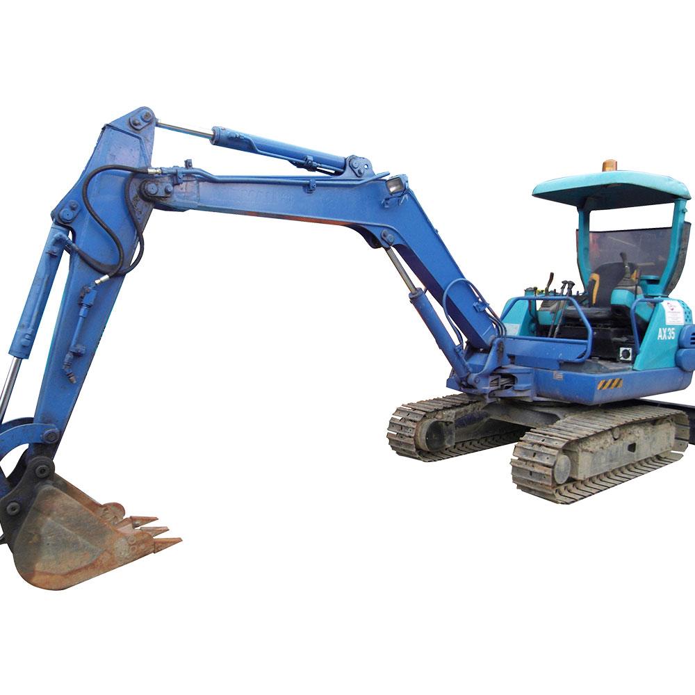 Used Mini Excavators | Contech Machinery Services | Singapore
